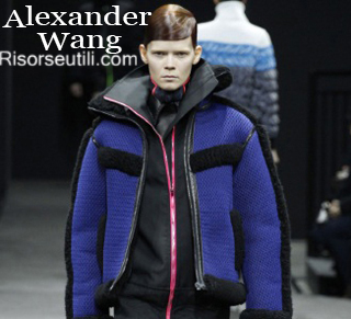 Fashion Alexander Wang fall winter 2014 2015 womenswear