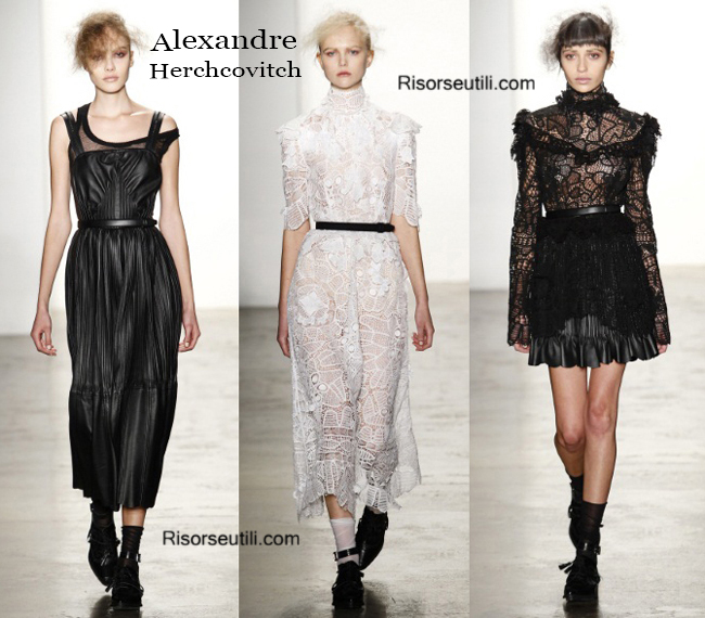 Fashion clothing Alexandre Herchcovitch fall winter 2014 2015