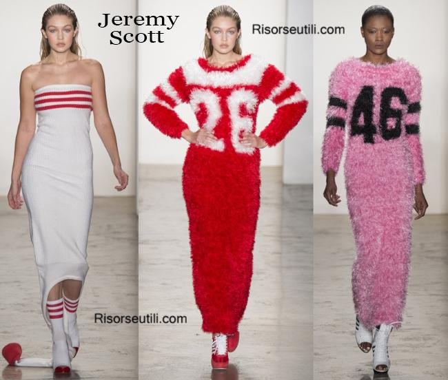 Fashion clothing Jeremy Scott fall winter 2014 2015