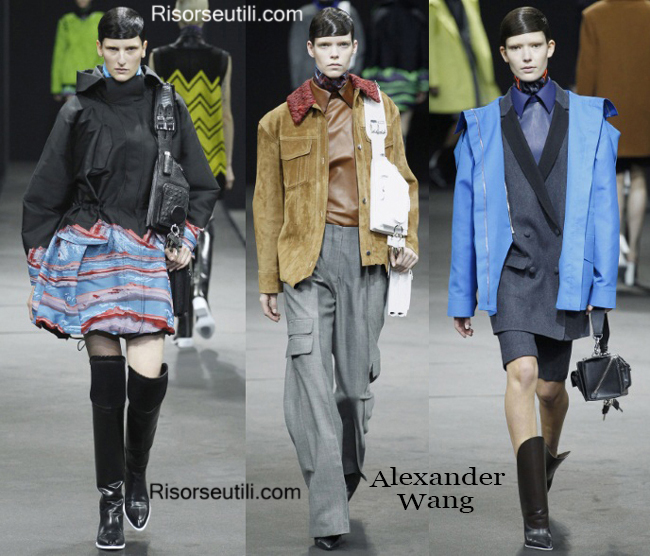 Fashion handbags Alexander Wang and shoes Alexander Wang