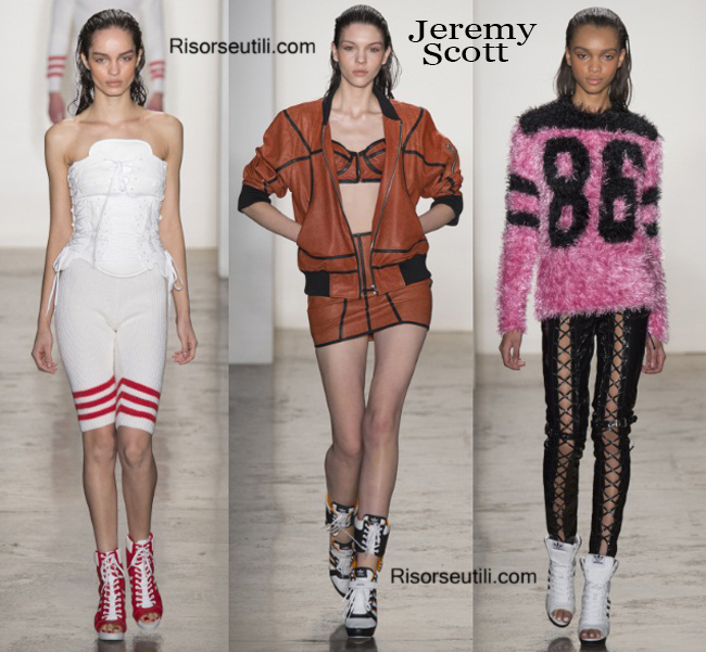 Fashion sneakers Jeremy Scott and boots Jeremy Scott