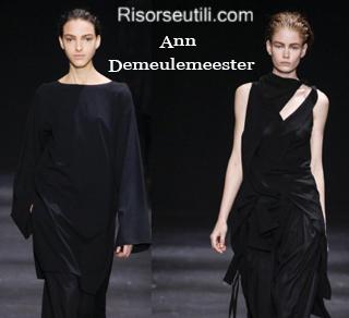 Clothing Ann Demeulemeester fall winter 2014 2015 womenswear