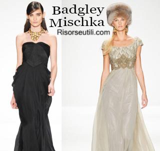 Clothing Badgley Mischka fall winter 2014 2015 womenswear