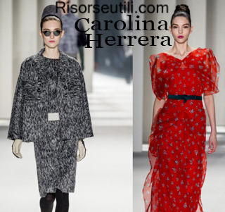 Clothing Carolina Herrera fall winter 2014 2015 womenswear