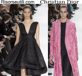 Clothing Christian Dior fall winter 2014 2015 womenswear