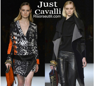 Clothing Just Cavalli fall winter 2014 2015 womenswear