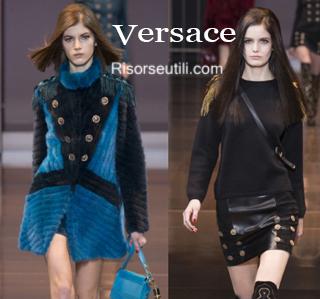 Clothing Versace fall winter 2014 2015 womenswear