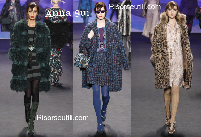 Clothing accessories Anna Sui fall winter 2014 2015