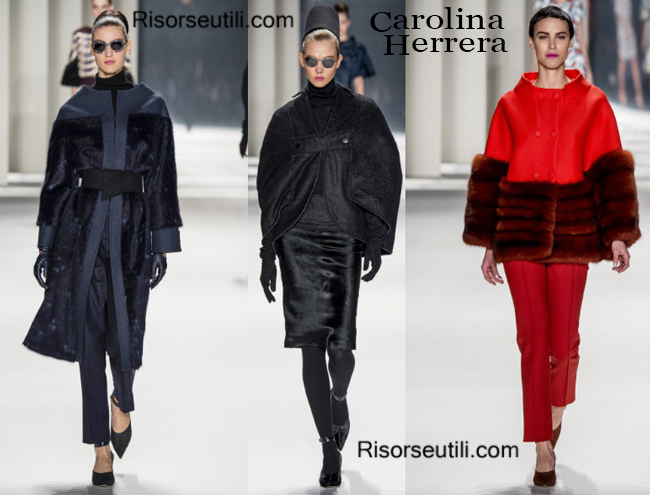 Clothing accessories Carolina Herrera fall winter 2014 2015