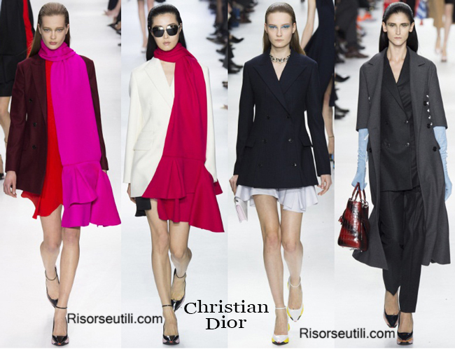 Clothing accessories Christian Dior fall winter 2014 2015