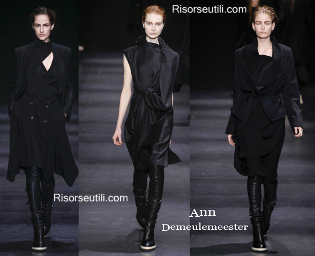 Fashion boots Ann Demeulemeester fall winter 2014 2015
