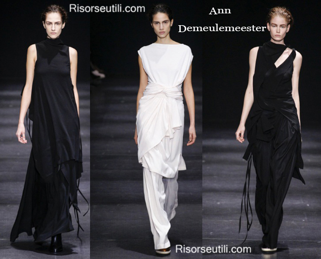 Fashion clothing Ann Demeulemeester fall winter 2014 2015