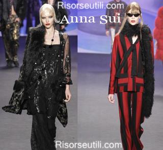Fashion clothing Anna Sui fall winter 2014 2015 womenswear