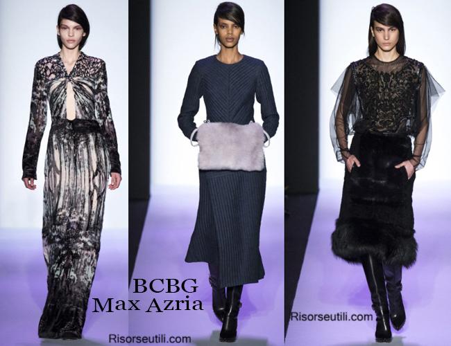 Fashion clothing BCBG fall winter 2014 2015