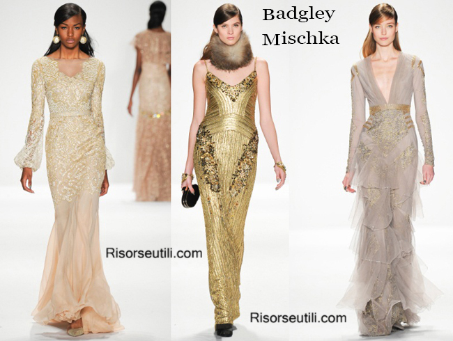 389c6b866e6 Clothing Badgley Mischka fall winter 2014 2015 womenswear