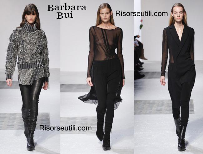 Fashion clothing Barbara Bui fall winter 2014 2015