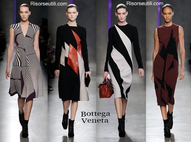 Fashion clothing Bottega Veneta fall winter 2014 2015
