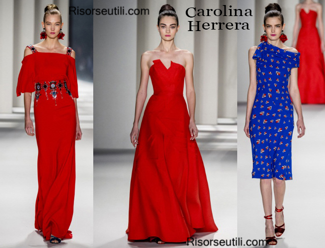 Fashion clothing Carolina Herrera fall winter 2014 2015