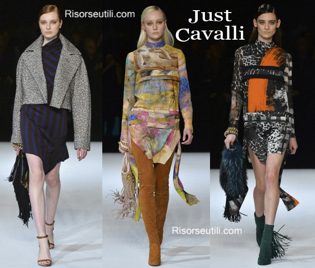 Fashion clothing Just Cavalli fall winter 2014 2015