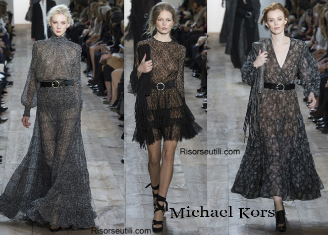 Fashion clothing Michael Kors fall winter 2014 2015