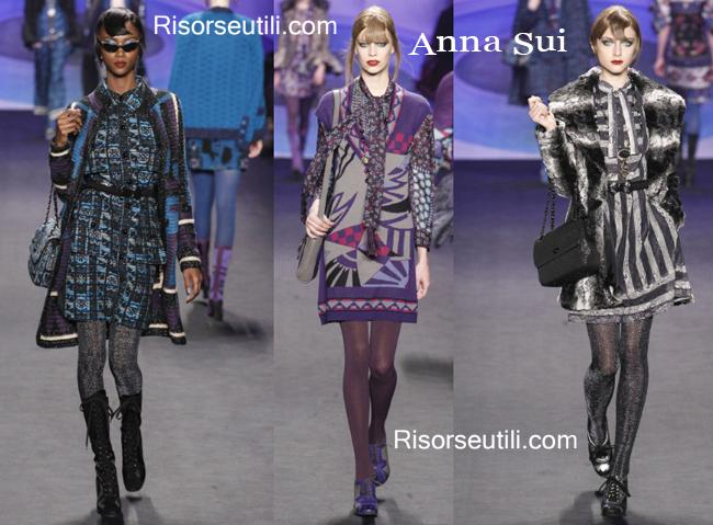 Fashion handbags Anna Sui and shoes Anna Sui