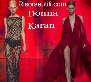 Clothing Donna Karan fall winter 2014 2015 womenswear