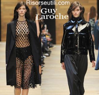 Clothing Guy Laroche fall winter 2014 2015 womenswear