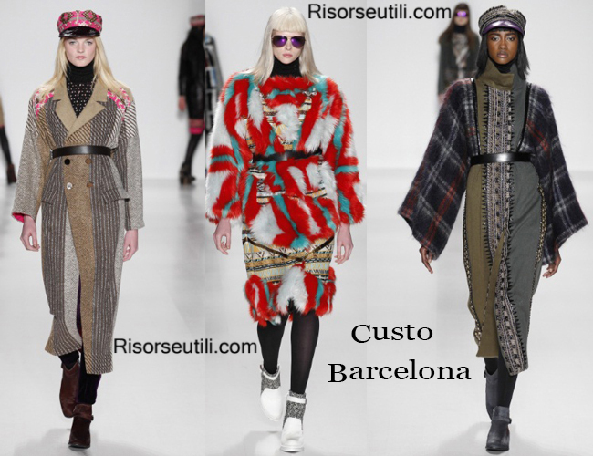 Clothing accessories Custo Barcelona fall winter 2014 2015