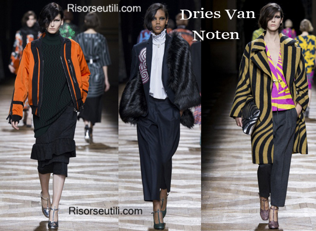 Clothing accessories Dries Van Noten fall winter 2014 2015