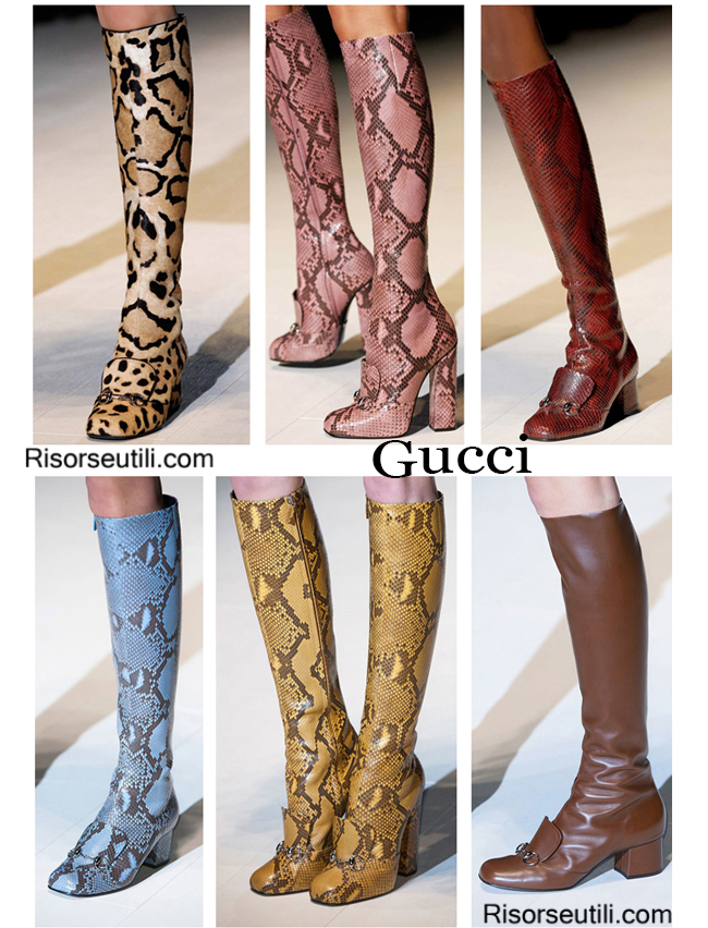 Fashion boots Gucci and shoes Gucci