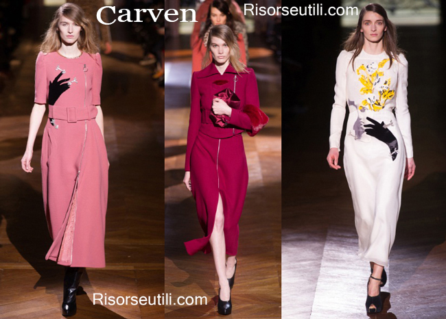 Fashion clothing Carven fall winter 2014 2015
