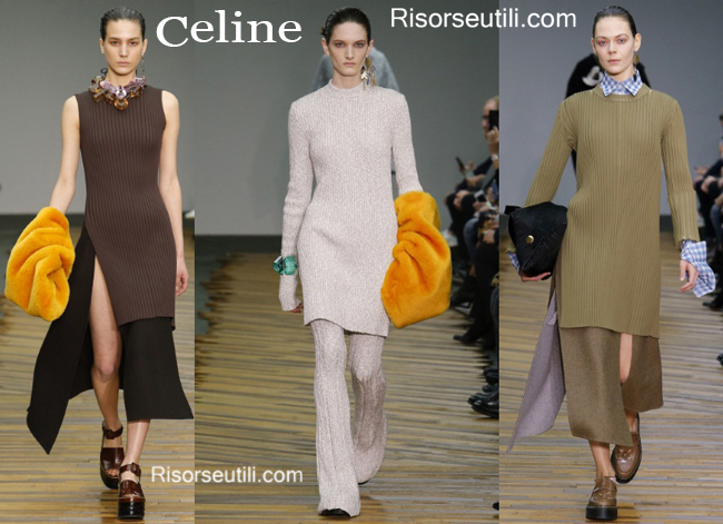 Fashion clothing Celine fall winter 2014 2015