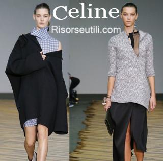 Fashion clothing Celine fall winter 2014 2015 womenswear