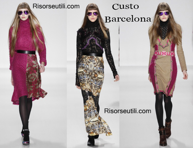 Fashion clothing Custo Barcelona fall winter 2014 2015