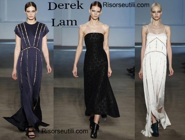 Fashion clothing Derek Lam fall winter 2014 2015