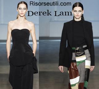 Fashion clothing Derek Lam fall winter 2014 2015 womenswear