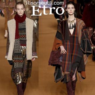 Fashion clothing Etro fall winter 2014 2015 womenswear