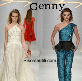 Fashion clothing Genny fall winter 2014 2015 womenswear