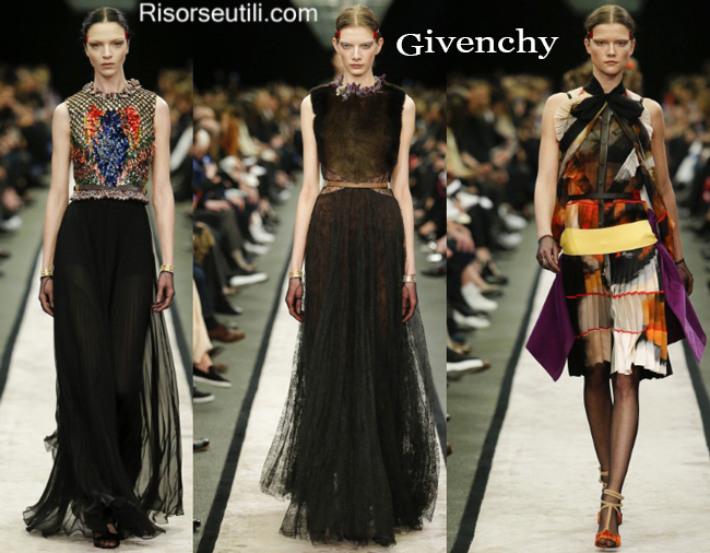 Fashion clothing Givenchy fall winter 2014 2015