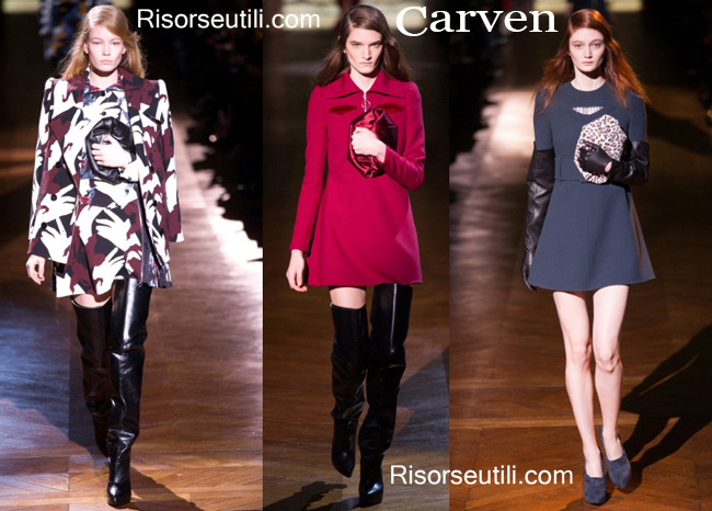 Fashion handbags Carven and shoes Carven