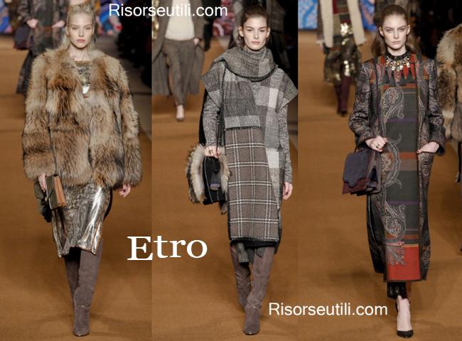 Handbags Etro and shoes Etro