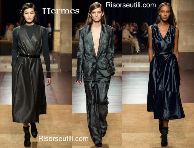 Fashion clothing Hermes fall winter 2014 2015