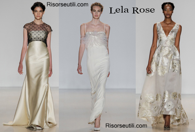 Ceremony dress Lela Rose fall winter 2014 2015