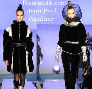 Clothing Jean Paul Gaultier fall winter 2014 2015 womenswear