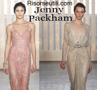 Clothing Jenny Packham fall winter 2014 2015 womenswear