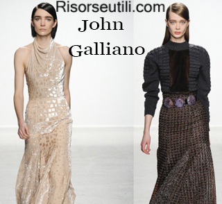 Clothing John Galliano fall winter 2014 2015 womenswear