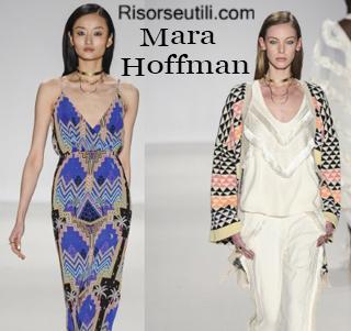 Clothing Mara Hoffman fall winter 2014 2015 womenswear