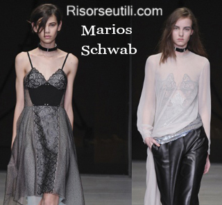 Clothing Marios Schwab fall winter 2014 2015 womenswear