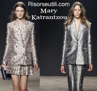 Clothing Mary Katrantzou fall winter 2014 2015 womenswear