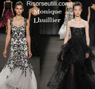 Clothing Monique Lhuillier fall winter 2014 2015 womenswear